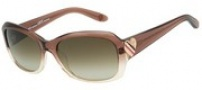 Juicy Couture Sweet Sunglasses Sunglasses - 01M2 Champagne Gradient (Y6 brown gradient lens)