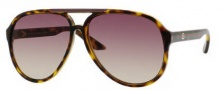 Gucci 1627 Sunglasses - 0791 Havana / 1W Brown Gray Gradient Lens