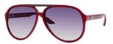 Gucci 1627 Sunglasses - 0HBZ Red / LF Gray Gradient Lens