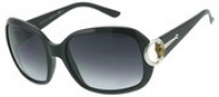 Gucci 3132/S Sunglasses Sunglasses - 0D28 Shiny Black (JJ gray shaded lens)