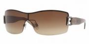 Burberry BE3043 Sunglasses Sunglasses - 100313 Gunmetal / Brown Gradient