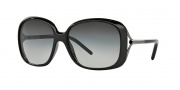 Burberry 4068 Sunglasses Sunglasses - 300111 Shiny Black / Gray Gradient