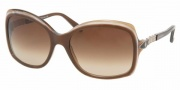 Bvlgari 8055B Sunglasses Sunglasses - 50308G Red Pearl / Gray Gradient