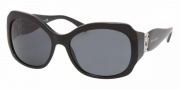 Bvlgari 8054B Sunglasses Sunglasses - 501/87 Black / Gray