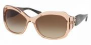 Bvlgari 8054B Sunglasses Sunglasses - 509313 Transparent Brown / Brown Gradient