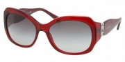 Bvlgari 8054B Sunglasses Sunglasses - 50968G Transparent Red / Gray Gradient
