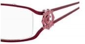 Juicy Couture Bess Eyeglasses Eyeglasses - 01D7 Burgundy Pink
