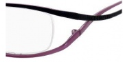 Juicy Couture Doll Eyeglasses Eyeglasses - 0FX6 Black Lavender Fade 