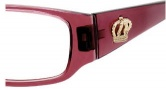 Juicy Couture Drama Queen Eyeglasses Eyeglasses - 01X8 Dark Rose