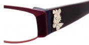 Juicy Couture Inspire/N Eyeglasses Eyeglasses - 0JPX Satin Burgundy
