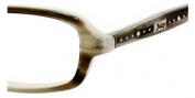 Juicy Couture Zoe Eyeglasses Eyeglasses - 0JQV Gray Horn Pearl