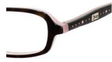 Juicy Couture Zoe Eyeglasses Eyeglasses - 01K2 Tortoise / Pink
