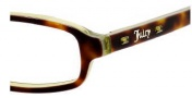 Juicy Couture Super Eyeglasses Eyeglasses - 0JPY Tortoise Fern