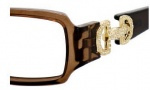 Gucci 3084 Eyeglasses Eyeglasses - 0ZH0 Transparent Brown