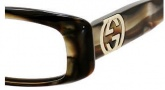 Gucci 2973 Eyeglasses Eyeglasses - 0SVF Brown Mother of Pearl