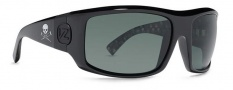 Von Zipper Clutch Sunglasses Sunglasses - BSJ-Jackass's Black Gloss / Grey