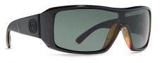 Von Zipper Comsat Sunglasses Sunglasses - Onyx Satin / Grey (UGX)