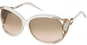 Roberto Cavalli RC443S Sunglasses Sunglasses - O24G Pearl White
