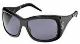 Roberto Cavalli RC453S Sunglasses Sunglasses - O01A Black / Smoke