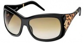 Roberto Cavalli RC453S Sunglasses Sunglasses - O01P Black