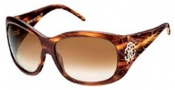 Roberto Cavalli RC466S Sunglasses Sunglasses - O53F Striped Havana