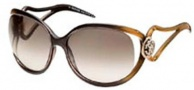 Roberto Cavalli RC468S Sunglasses Sunglasses - O50F Brown - Gradient - Gold