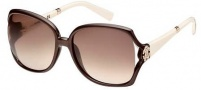 Roberto Cavalli RC504S Sunglasses Sunglasses - O50F Brown / Ivory