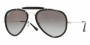 Ray-Ban RB3428 Sunglasses Road Spirit Sunglasses - 003/M3 Shiny Silver / Crystal Polarized Gray