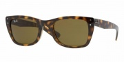 Ray-Ban RB4148 Sunglasses Caribbean Sunglasses - 601 Black / Crystal Green