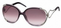 Roberto Cavalli RC524S Sunglasses Sunglasses - O83Z Transparent Purple