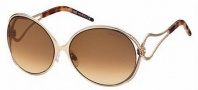 Roberto Cavalli RC525S Sunglasses Sunglasses - O28F Rose Gold