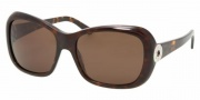 Bvlgari BV8066 Sunglasses Sunglasses - 504/73 Dark Havana / Brown