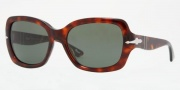 Persol PO2949S Sunglasses Sunglasses - 24/31 Havana / Crystal Green