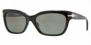Persol PO2963S Sunglasses Sunglasses - 95/58 Black / Crystal Green Polarized