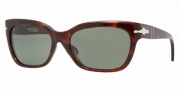 Persol PO2963S Sunglasses Sunglasses - 24/31 Havana / Crystal Green