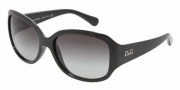 D&G DD8065 Sunglasses Sunglasses - 501/8G Black / Gray Gradient