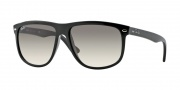 Ray-Ban RB4147 Sunglasses Sunglasses - 601/32 Black / Crystal Gray Gradient