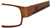 Armani Exchange 135 Eyeglasses Eyeglasses - 0NYW Brown Dark Havana