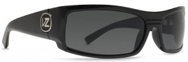 Von Zipper Burnout Sunglasses Sunglasses - Black Gloss / Vintage Grey (BKG)