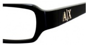 Armani Exchange 215 Eyeglasses Eyeglasses - 0807 Black