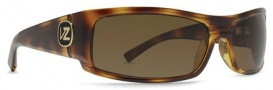 Von Zipper Burnout Polarized Sunglasses - Tortoise / Bronze Poly Polarized (TPP)
