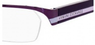 Armani Exchange 219 Eyeglasses Eyeglasses - 0N6O Aubergine Violet Lilac