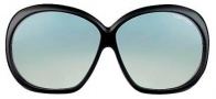 Tom Ford FT0120 Natalia Sunglasses Sunglasses - O01B Shiny Black