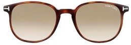 Tom Ford FT0126 Sunglasses Sunglasses - O52P Dark Havana