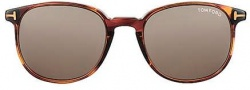 Tom Ford FT0126 Sunglasses Sunglasses - O54J Red Havana