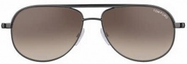 Tom Ford FT0143 Mathias Sunglasses Sunglasses - O08F shiny Antracite