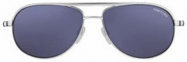 Tom Ford FT0143 Mathias Sunglasses Sunglasses - O18v Shiny Rhodium