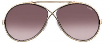 Tom Ford FT0154 Georgette Sunglasses Sunglasses - O28F Shiny Rose Gold