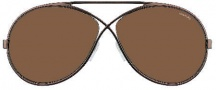 Tom Ford FT0154 Georgette Sunglasses Sunglasses - O36J Shiny Bronze