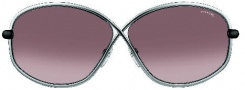 Tom Ford FT0160 Brigitte Sunglasses Sunglasses - O14F Shiny Ruthenium